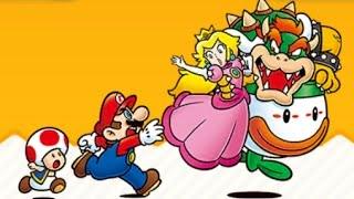 Super Mario Run - All Castle & Airship Levels (Boss Fights)