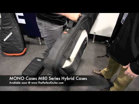 The Perfect Guitar Direct from NAMM 2012 - MONO Cases M80 & Guitar Tick