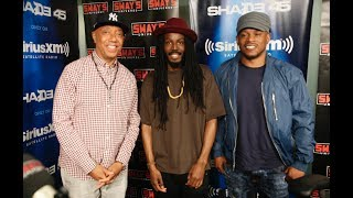 Russell Simmons Drops Knowledge, Talks New film & Introduces Donte Clark + Freestyles Live