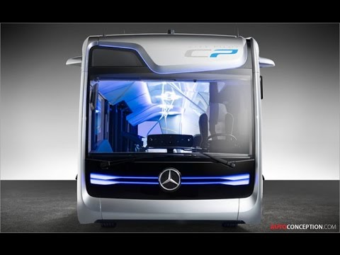 Transportation Design: Mercedes-Benz 'Future Bus' (Exterior Design)
