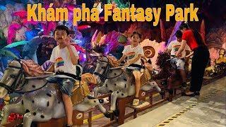 Stin Dâu Khám Phá Fantasy Park (^_^) Stin Dâu Đi Khu Vui Chơi 3 Tầng Fantasy Park Bà Nà Hills
