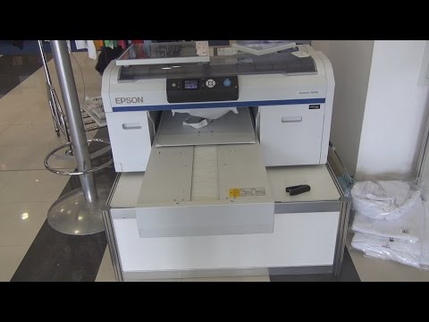 Epson SureColor F2000 printer review in 3D