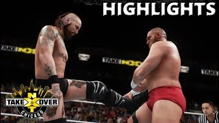 WWE 2K18 ALEISTER BLACK VS LARS SULLIVAN | NXT TAKEOVER CHICAGO II PREDICTION HIGHLIGHTS