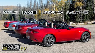 MX-5 Miatas Compared - Which is best? - TV Season 1 Ep. 2 | Everyday Driver