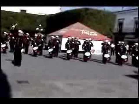 banda de guerra bomberos veteranos