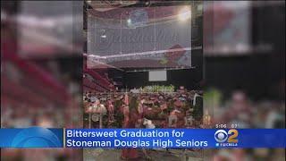 Bittersweet Graduation Held For Marjory Stoneman Douglas High School