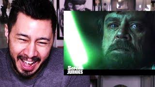 HONEST TRAILERS: STAR WARS THE LAST JEDI   Reaction!