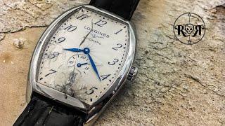 Restoration of a broken Longines Evidenza Swiss Automatic Watch - ETA 2895-2 Service