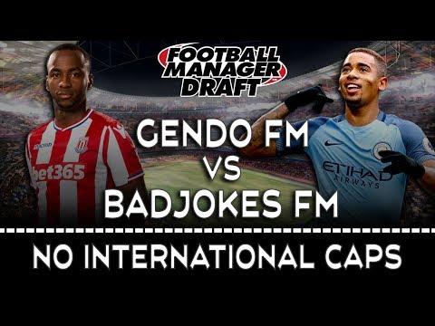 DRAFT MODE vs BadJokes FM | FOOTBALL MANAGER 2017