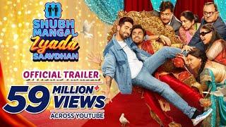 Shubh Mangal Zyada Saavdhan Trailer- Ayushmann Khurrana..