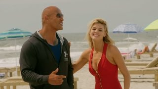 Baywatch: Behind the Scenes Movie Broll - Zac Efron, Dwayne Johnson, Pamela Anderson