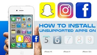 How to Install Unsupported Apps on iOS 9.x.x, iOS 7.x.x, iOS 6.x.x and iOS 5.x.x iPhone iPad