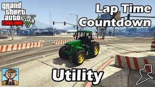 Fastest Utility Vehicles (2018) - GTA 5 Best Fully Upgraded Cars Lap Time Countdown