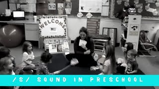 Letter and Sound /S/