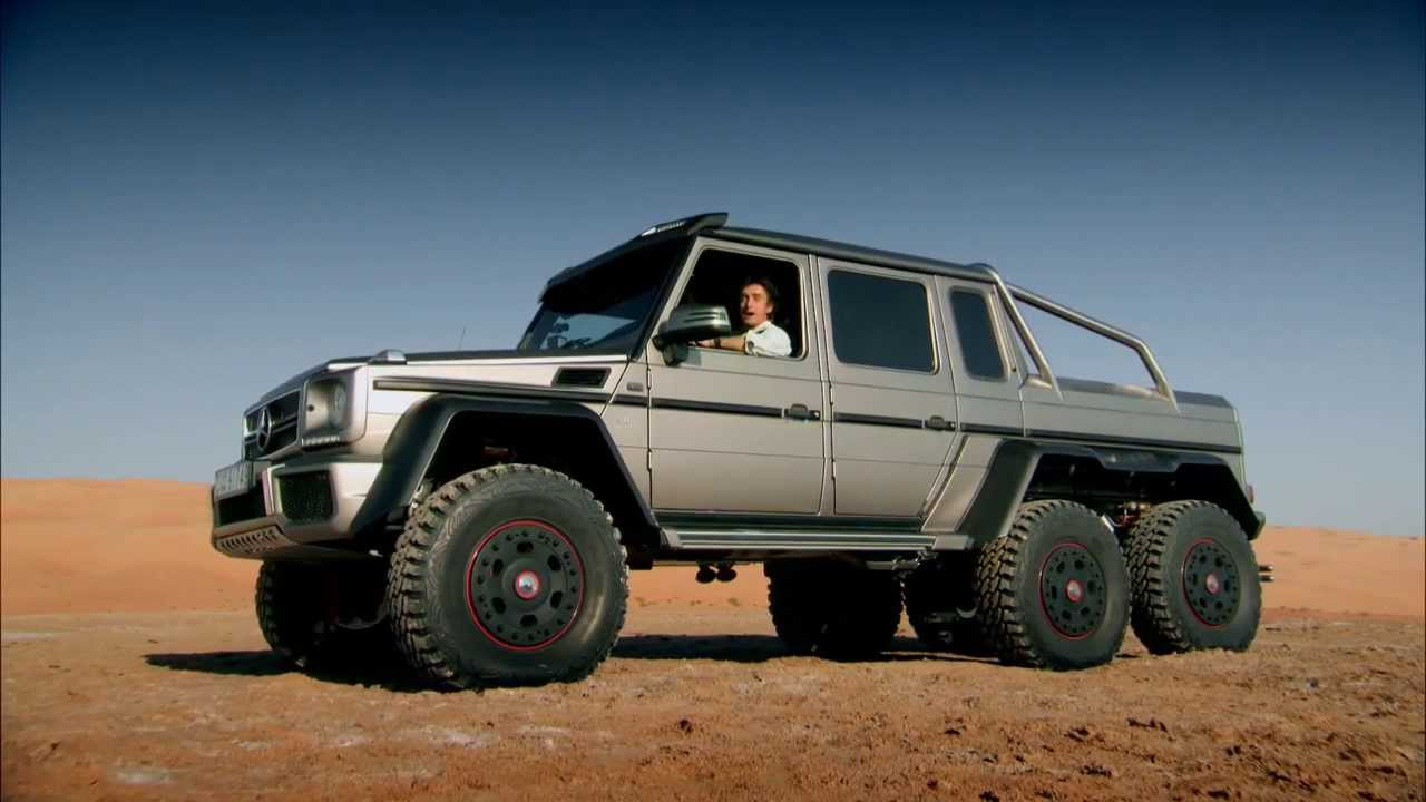 Top Gear Mercedes G63 Amg 6x6 Se21e04 Youtube