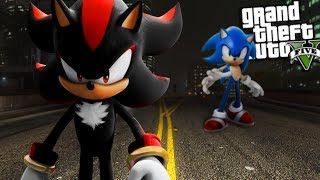 SHADOW the HEDGEHOG has RETURNED w/ SONIC (GTA 5 Mods)