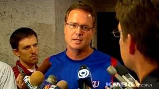 Uncut: Bill Self Talks About KU Fights