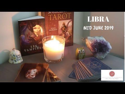 LIBRA MID JUNE 2019 Tarot~ Damn!  Spirit Takes Control of this Reading!