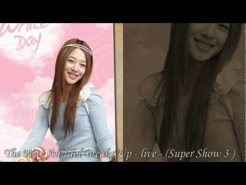 F(x) Sulli 's  voice ! so sweet ^^