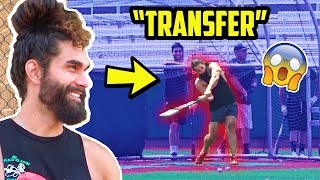 Division 1 Star Pranks a College Team as 'The Transfer'