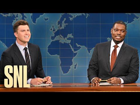 Weekend Update: Colin Jost and Michael Che Swap Jokes for Season 46 Finale - SNL