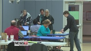 Voters head to the polls for the Connecticut Primary election