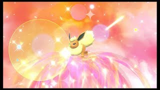 Shiny Eevee/Flareon - Pokemon: Let's Go, Pikachu!
