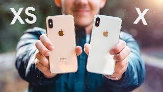 iPhone X vs iPhone XS !