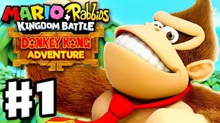 Mario + Rabbids Kingdom Battle: Donkey Kong Adventure DLC - Gameplay Walkthrough Part 1