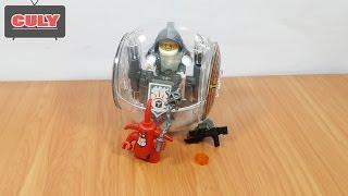 Ráp Lego Nexo Knight hiệp sĩ lái phi thuyền tròn - đồ chơi trẻ em   brick toy for kids