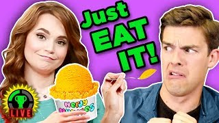 WORST Ice Cream Ever! Ft. Nerdy Nummies' Rosanna Pansino (Part 2 of 2)