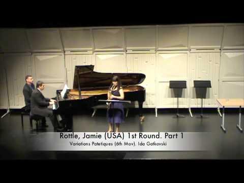 Rottle, Jamie (USA) 1st Round. Part 1