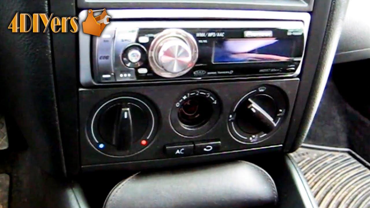 Diy Volkswagen Mkiv Hvac Light Bulb Replacement Youtube