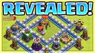 SIEGE WORKSHOP, NEW WALLS, Defense Levels! Clash of Clans Town Hall 12 Update!