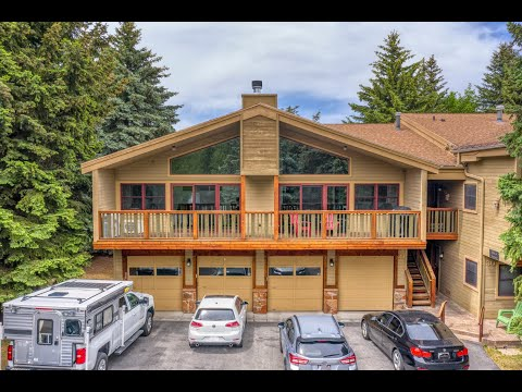 MARKETING AERIAL VIDEO FOR HOME IN PARK CITY UTAH