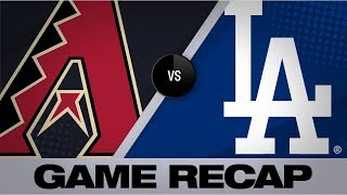 Bellinger jacks walk-off home run in the 10th | D-backs-Dodgers Game Highlights 7/3/19