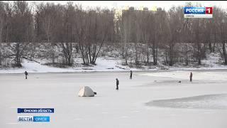 В Черлакском районе на реке Иртыш завершился ледостав