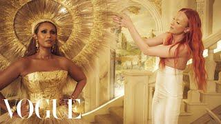 The Making of Iman's Met Gala Dress | Sketch to Dress | Vogue