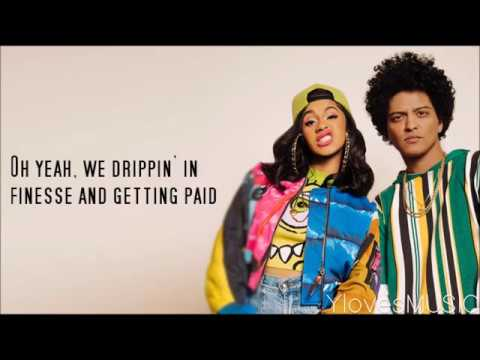 Bruno Mars ft. Cardi B - Finesse (Lyrics)