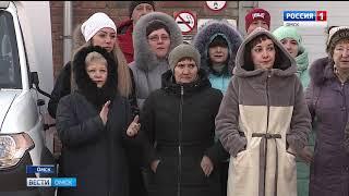 На вооружение больниц Омской области поступили новые машины скорой помощи