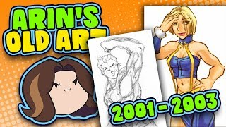 Arin's Old Art: 2001-2003 - Game Grump