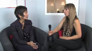 Dancing with the Stars Cheryl Burke's mother, Sherri Burke, Interviews at Laguna Niguel Dance Studio