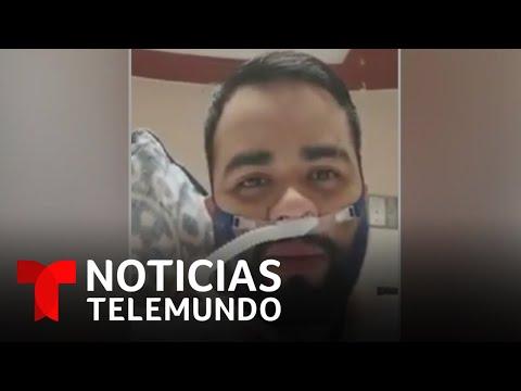 Joven enfermero grabó un mensaje antes de morir por COVID-19 | Noticias Telemundo