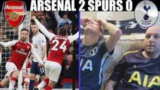 ARSENAL 2 SPURS 0!! WHERE IS THE PASSION!? -  LIVE MATCH REACTION + MATCH REVIEW
