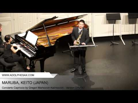 Dinant 2014 - Maruba, Keito - Concerto Capriccio by Gregori Markovich Kalinkovich