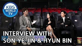 Interview with Son Ye-jin & Hyun Bin [Entertainment Weekly/2018.08.13]