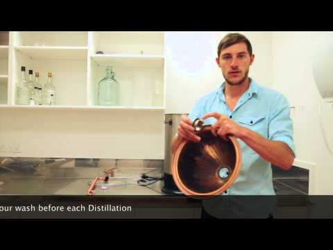 Grainfather Alembic Pot Still Copper Dome And Condensor (Fits On T500 & Grainfather)