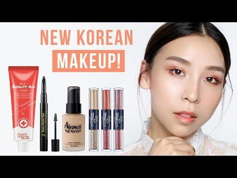 NEW Korean Makeup! TINA TRIES IT