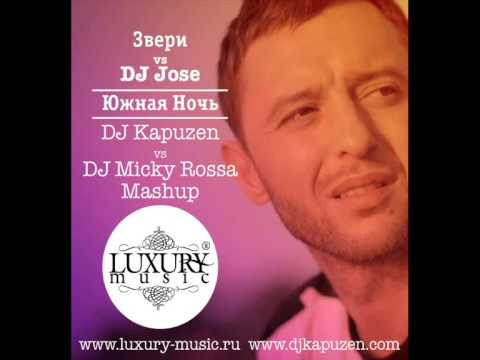 Звери vs DJ Jose   Южная Ночь DJ Kapuzen vs DJ Micky Rossa Mashup