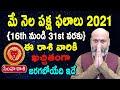 May Rasi Phalalu   16th May to 31st May   Simha Rashi 2021   Nanaji Patnaik   Pooja Tv Telugu